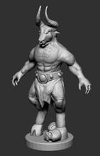 minotaur games-toys animal minotaur creature monster mythology bull toy print games toys games toys