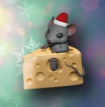 mouse de queso juegos-juguetes de juguete el ratón el queso 2020 de navidad la diversión tienda de regalos happynewyear feliz nuevo año 3dprint presente la rata juegos los juguetes juegos de juguetes