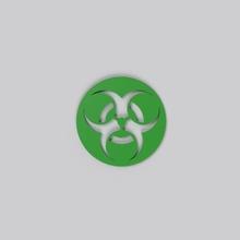 herramienta multifuncional 39 en la montaña rusa las bebidas signo de la plana de la etiqueta patrón el logotipo 3d la impresión diseño de la radiación ecología virus art de la ilustración resumen signos logotipos señales de logotipos
