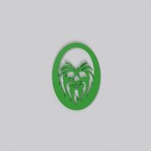 herramienta multifuncional 92 en la montaña rusa las bebidas signo de la plana de la etiqueta patrón el logotipo 3d la impresión diseño estrella guerras chubaka animal bigfoot art signos logotipos señales de logotipos
