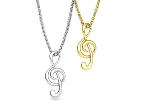 music note treble clef note necklace pendant music 3dmodel jewelry music note trebleclef note pendant necklace music music pendant printable 3d model spain uk united france canada usa europe note 3d gold necklace cad necklaces musical note