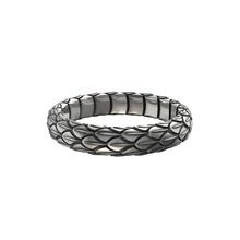 nd095 yılan büyük doku yüzük yılan yüzük engerek siyah takı gümüş yılan aspid tasarım doğa mamba zehirli çıngıraklı yılan yüzükler yazdırılabilir modern şık moda katı manzara