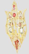 collana ciondolo gioielli la collana oro gioiello gioielli gemma diamante gioielli matrimonio brillante swarovski i cristalli di cristallo squisita aristocratica raffinati di boemia in strass collane ruby