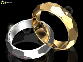 original sizes 3d wedding ring model alyans 007 ready 3dprint contemporary bright artistic shining jewelry design easel gallery gem 3d ring wedding rings printable womenring gold diamond halo collection dimaond