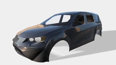 estrangeiro 2008 313 mm roda base 2mm espessura carro automotivo esporte Mitsubishi SUV estrangeiro passatempo faça passatempo faça