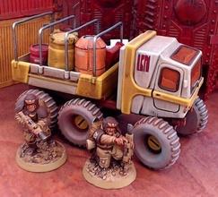 avamposto utilità camion 28mm sci fi 28mm scifi veicolo warhammer40k wargaming 3dprint Giochi giocattoli Giochi giocattoli gioco Accessori gioco Accessori camion fdm