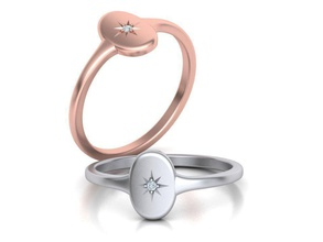 oval guardian signet ring 3dmodel oval guardian signet ring women signet signet star engravable ring diamond guardian guardian ring delicate ring usa canada us uk europe ringforher jewellery gold cad jewelry rings
