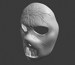 pablo gris máscara de slipknot slipknot la máscara print3d la música de la banda el metal pablo gris juegos los juguetes juegos de juguetes otros