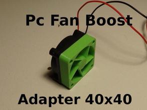 pc fan pressure boost adapter 40x40x10mm fan boost fan boost adapter pressure boost pressure hobby diy hobby diy