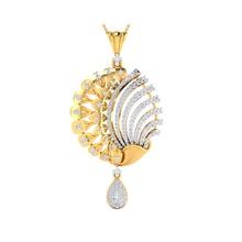 pendente 1289 p gioielleria sterlina nozze Fidanzamento gioielleria gioiello stampabile solitario pendente oro platino collana brillante argento ciondoli platino collana brillante argento ciondoli pendente collana