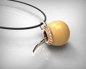 pendente 3d stl formato gioielleria pendente arte oro argento stampabile metallico colgante ciondoli