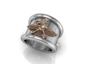persiano - perpetua adoratore anello gioielli la persia persiano spiritul dio perpetuo adoratore anello gioielli magia accidenti bene a buon mercato anelli religione bikers 3dprintring uomini di boemia egitto boho