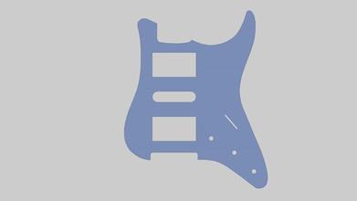 pickguard per chitarra mod st h-s-h 3d print model hobby-diy pickguard chitarra st h s h 3d print model fender stratocaster pickup hobby diy hobby diy other