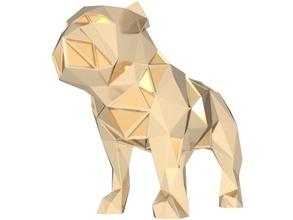 çokgen bulldog parametrik hayvan poli poli düşük poli çokgen çokgen parametrik bulldog oyuncak oyuncaklar altın heykel Yazdır yazdırılabilir Şirin süslemek şekil vermek Sanat heykeller