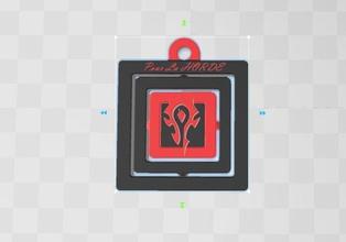 porte cle pour la horde porte cle horde warcraft alliance jeux games cadeau insigne illustration symbol toys wow facts image signalise games toys game accessories game accessories