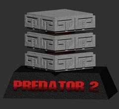 predatore 2 base 1 to12 figura predatore predator2 alieno contro predatore base predatorbase predator2base predatori thepredator Giochi giocattoli Giochi giocattoli