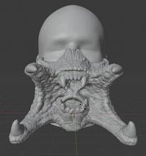 predatore maschera maschera maschera predatore mezza maschera covid19 mascherina predatore passatempo Fai passatempo Fai alieno cranio