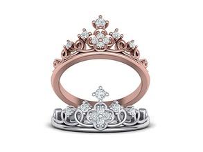 princess crown ring tiara ring 3dmodel n10343 jewelry crown ring princess ring 3dmodel 3dring jewelry cad usa canada europe israel diamond transparent tiara tiara ring australia crown printable diamond crown diamond ring rings