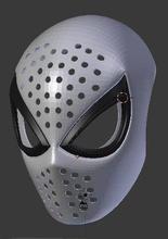 ps4 hombre araña 3d imprimible cara concha hombre araña cosplay araña máscara Arte escaneos réplicas escaneos réplicas