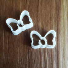 ribbon cookie cutter house bow cookie cutter baked cupcake pastry cake sweet gumpaste sugar fondant dough dessert home house kitchen dining kitchen dining