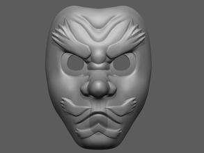 sakonji urokodaki mask demon slayer - fan art cosplay mask cosplay demon helmet character fashion halloween horror anime magan urokodaki slayer head face art games battle toys accessories games toys