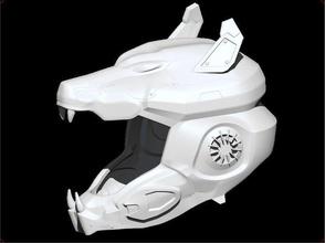 sci-fi wolf helmet sci fi sci fi cyberwolf wolf helmet mask antigas airsoft cosplay 3dshophelmet games toys games toys game accessories game accessories
