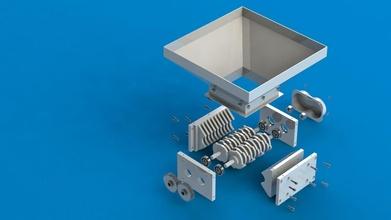 chatarra metal desfibradora electricidad engranaje maquinaria acero tecnología herramienta Arte