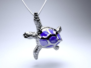 sea turtle pendant pendant jewelry necklace printable turtle seaturtle silver platinum chain precious present gift luxury sterling gem fashion other