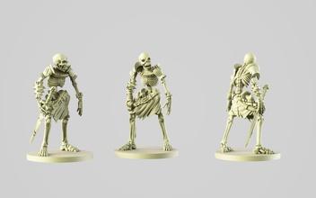28mm skeleton