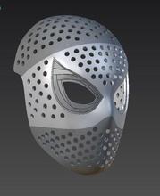 hombre araña regreso casa cara concha máscara hombre araña regreso casa cara concha cosplay maravilla máscara 3dprint cosplay spiderman regreso casa araña hombre cosplaystuff Peter Parker pasatiempo bricolaje diy pasatiempo bricolaje diy