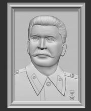 stalin sollievo ritratto stalin sollievo fresatura arte scultura testa sculture