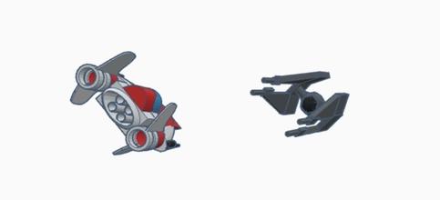 estrella guerras ala Corbata interceptador estrella guerras aeronave avión vehículo tecnología astronave ala interceptor corbata resistencia república juegos juguetes juegos juguetes