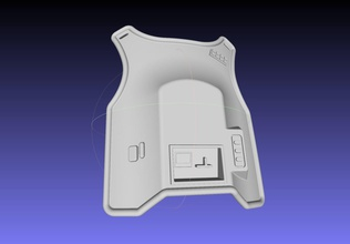 star wars imperial officer armor chestplate games-toys star wars starwars movie prop replica costume cosplay armor chestplate imperial officer star wars imperial officer battlefront toy armor 3d printable imperial officer chestplate movie prop games toys games toys other