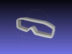 star wars imperial officer goggles model games-toys starwars star wars imperial officer star wars imperial officer battlefront rebels game movie series prop replica goggles imperial officer goggles costume 3d printing games toys games toys other