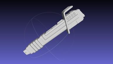 estrella guerras mandaloriano sarksaber básico imprimible modelo 3d impresión 3d imprimible réplica serie ciencia ficción ciencia fi Ciencias ficción fantasía guerra Galaxias estrella guerras mandaloriano mandaloriano sable luz sable oscuro
