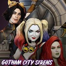 Steampunk Gotham Kent sirenler Harley Quinn zehir sarmaşık kedi Kadın Gotham Kent sirenler kedi Kadın Harley Quinn zehir sarmaşık dc çizgi roman heykel şekil koleksiyon 3d Yazdır Sanat heykeller