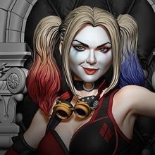 Steampunk Harley Quinn Harley Quinn Gotham Kent sirenler 3d Yazdır Steampunk Sanat heykeller