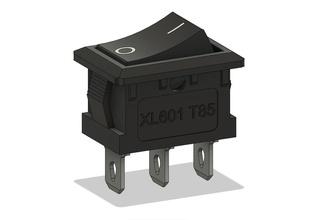 cambiar interruptor xl601 t85 modelo montaje dispositivo diseño electrónica mano diseño componente electricidad voltaje voltios pasatiempo bricolaje diy cambiar interruptor xl601 t85 cortar pasatiempo bricolaje diy