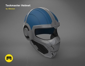 taskmaster helmet 3d print model 3dprint helmet wearable marvel comics superhero villain taskmaster costume cosplay widow hydra fantasy series helm armor mask game toys games toys games