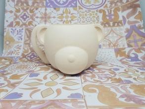 taza oso taza oso animale decoracion decorazione casa cocina utencillo molde artesania arte