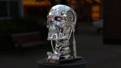 terminator t-800 skull bust 3d print stl model diorama games-toys terminator t 800 genesis arnold t 1000 skynate games toys games toys