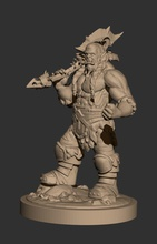 thrall figure wow warcraft mmorpg fantasy fictional creature orc thrall creature world  stylised fantasy rpg games toys games toys