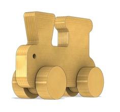 train jouet 3d impression bois massif intérieur bois forêt jouets lego Jeux Jeux jouets