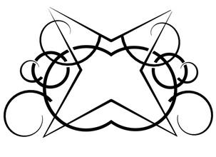 tatuaggio tribale 04 art e tribali il tatuaggio l'inchiostro rituale modelli per la matematica matematica forma geometrica art matematiche arte il tribalismo astratto forma complesso la stampa