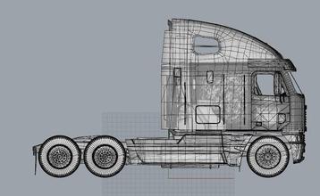 camion 3d Stampa modello merci argosy camion merci argosy macchina 3d modello Stampa kit passatempo Fai passatempo Fai settore automobilistico