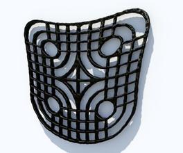 twisted modello art e tribali modello matematica astratto geometrica forma geometrica stampate art matematiche arte il tatuaggio l'inchiostro il tribalismo simbolo