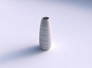 vase bulle twith hard horizontal dents house vase bulle twith hard horizontal dents house decor