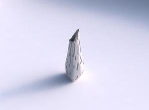 vaso puffy ponta do triângulo cavidades suave vaso puffy derrubado triângulo  cavidades suave prato decoração de arquitetura a decoração a casa