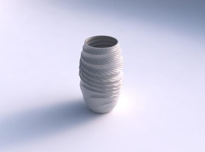 vase twisted distorted twisted grid plates house vase twisted  distorted  twisted grid plates house decor