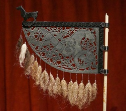 viking weather vane art viking weathervane weather girouette vane langskip drakkar drakar vicking history reenactment replica art borre style ringereik urnes other
